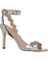 Loeffler Randall Amelia Ankle-Strap Sandals - Lyst