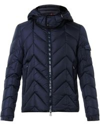 Moncler Berriat Chevron Down-Filled Jacket - Lyst