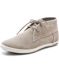 Seavees 0460 2 Eye Floater Shoes - Grey