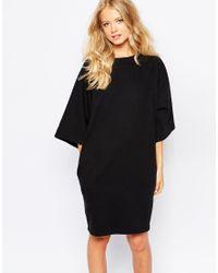 Monki Oversized Sweater Dress - Black