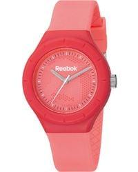 Reebok Women's Warm Up Camo Pink Polyurethane Strap Watch 38mm Rf-twc-l2-pcpp-pc
