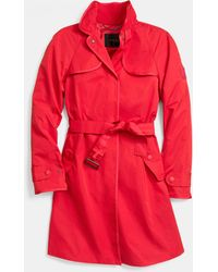 Coach Sporty Topper Trench - Lyst