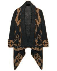 Line Knitwear | Line Marlboro Blanket Wrap Jumper | Lyst