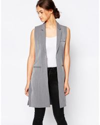B.Young - Textured Waist Coat - Lyst