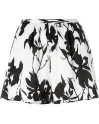 Thakoon - Floral Print Shorts - Lyst