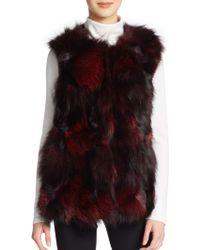 Annabelle New York Crosby Fox Fur Vest - Lyst