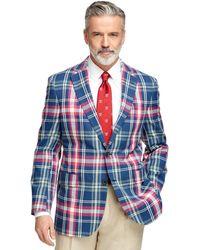 Brooks Brothers Madison Fit Madras Sport Coat - Lyst