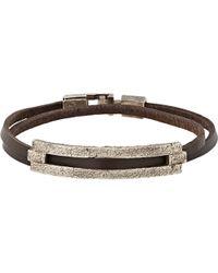 Zadeh Tamar Wrap Bracelet - Brown