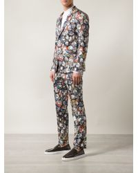 Moschino Soda Can Print Suit - Multicolor