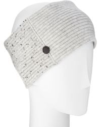 Rag & Bone - Catherine Ribbed Knit Cashmere Headband - Lyst