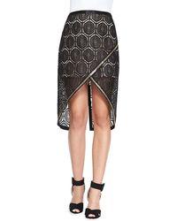 Sass & Bide Six Months Later Embroidered Skirt - Lyst