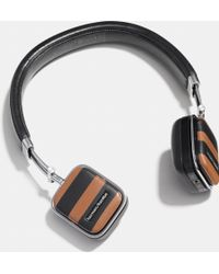 COACH Harman Kardon Soho Varsity Stripe Wireless Headphone - Black