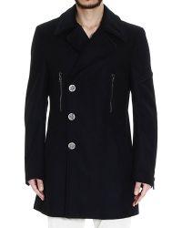 John Richmond Coat Man - Lyst
