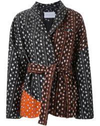 OSMAN | 'herona' Belted Jacket | Lyst