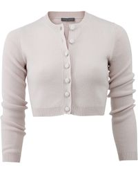 Alexander McQueen | Cropped Cardigan | Lyst