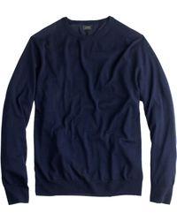 J.Crew Lightweight Italian Merino Wool Sweater - Lyst