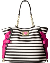 Betsey Johnson Mix N Match Tote - Lyst