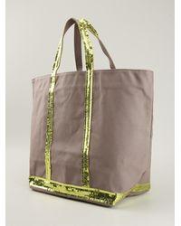 Vanessa Bruno Sequin Detail Shopper Tote - Lyst