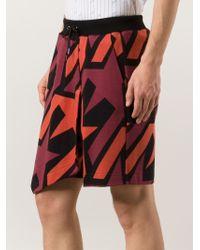 Vivienne Westwood - Kilt-style Printed Track Shorts - Lyst