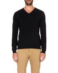 Hugo Boss Knitted Cotton Jumper - For Men - Lyst