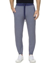 2xist - 2(x)ist Textured Jogger Trousers - Lyst