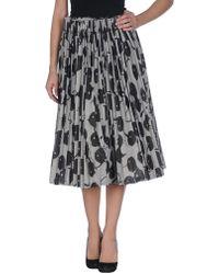 Rundholz 3/4 Length Skirt - Black