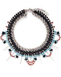 Joomi Lim - 'high Society' Crystal Pearl Collar Necklace - Lyst
