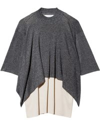 3.1 Phillip Lim Double Layer Sweater - Lyst