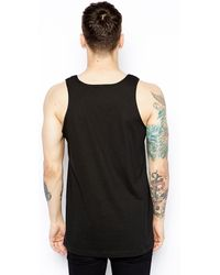 Crooks and Castles - Tank With Undertaker Logo - Lyst
