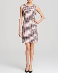 Diane von Furstenberg Dress - Sofia Tweed Front - Lyst