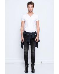 Zadig & Voltaire Monastir Mc Print Men Tunisian T Shirt - Lyst