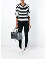 Golden Goose Deluxe Brand Small 'equipage' Tote - Gray
