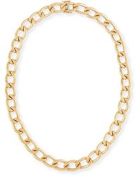 Rina Limor - New Essentials 18k Gold Link Necklace - Lyst