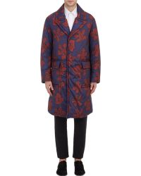 Burberry Prorsum - Puffer Overcoat - Lyst