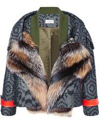 Preen By Thornton Bregazzi Falcon Jacket with Fox - Lyst