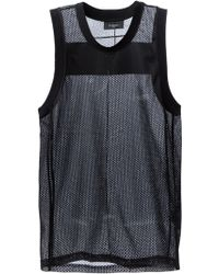 Givenchy Basketball Style Tank Top - Black
