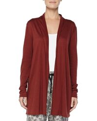 Hanro Cashmere-Blend Universe Of Open Cardigan - Lyst