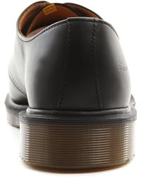 Dr. Martens 1461 Black Leather Derbies black - Lyst
