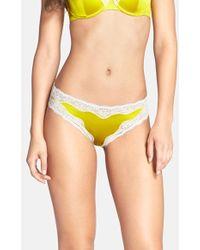 Stella McCartney 'Clara Whispering' Silk Satin Bikini - Lyst