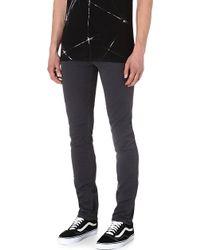 J Brand Mick Skinnyfit Jeans Grey - Lyst