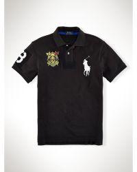 Polo Ralph Lauren Slim-fit Big Pony Crest Polo - Lyst