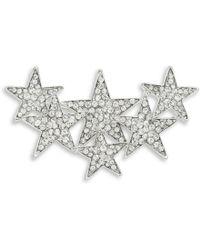 Lord & Taylor - Crystal Star Pin - Lyst