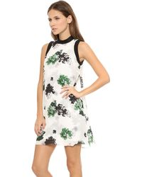 A.L.C. Drie Floral Dress White Floral - Lyst