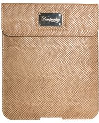 Temperley London - Python Effect Leather Ipad Case - Lyst