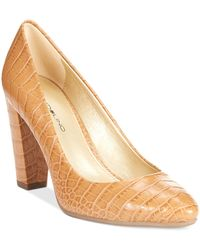 Bandolino Brown Edell Pumps - Lyst