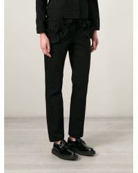 Simone Rocha - Frill Detail Jeans - Lyst