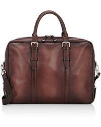 Araldi - 1930 Men's Double-handle Briefcase - Lyst