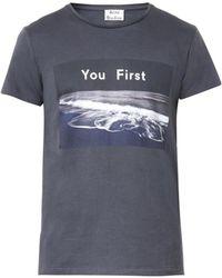 Acne Studios Standard Photo-Print T-Shirt - Lyst