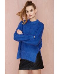 Nasty Gal Shag Appeal Sweater - Lyst