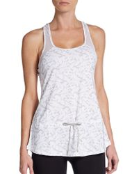 Betsey Johnson Floral-Lace Peplum Top - Lyst